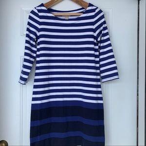 Banana Republic Striped 100% Cotton Dress-Size Med